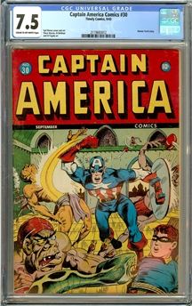 Captain America Comics #30