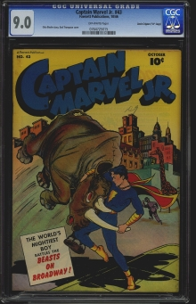 Captain Marvel Jr. #43