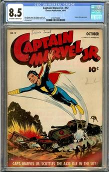 Captain Marvel Jr. #12
