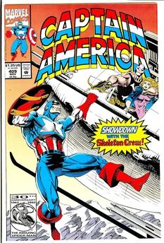 Captain America #409
