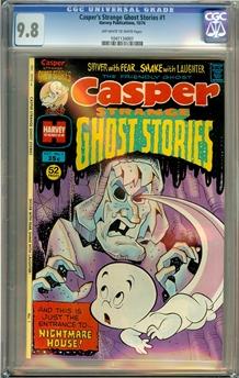 Casper's Strange Ghost Stories #1