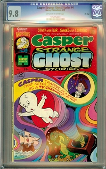 Casper's Strange Ghost Stories #4