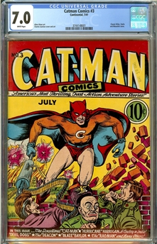 Catman Comics #3
