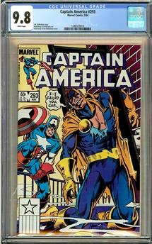 Captain America #293
