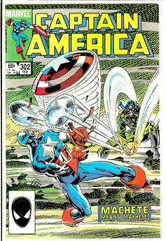 Captain America #302