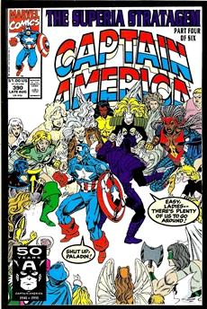 Captain America #390