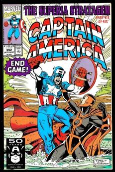 Captain America #392