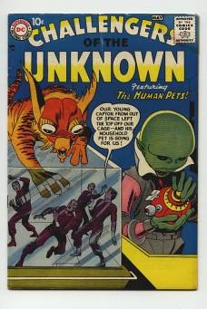 Challengers of the Unknown #1