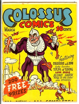 Colossus Comics #1