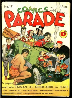 Comics on Parade #17