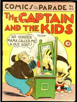 Comics on Parade #40
