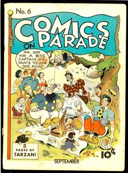 Comics on Parade #6