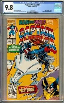 Captain America #403
