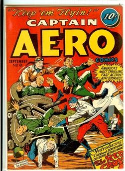 Captain Aero Comics #8