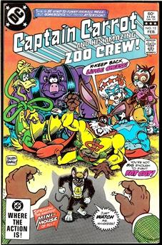 Captain Carrot & his Amazing Zoo Crew #12