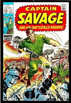 Captain Savage #12