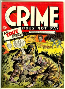 Crime Does Not Pay #29