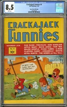 Crackajack Funnies #6