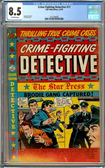 Crime Fighting Detective #11