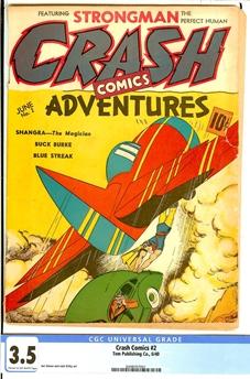 Crash Comics #2