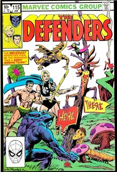 Defenders #115