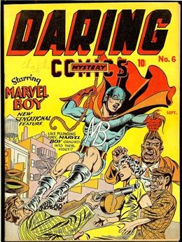 Daring Mystery Comics #6