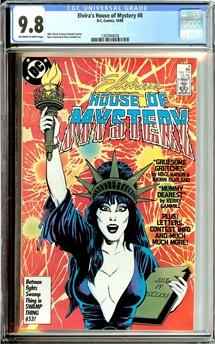 Elvira's House of Mystery #8