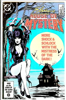 Elvira's House of Mystery #5