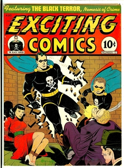 Exciting Comics #12