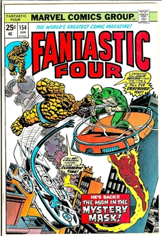 Fantastic Four #154