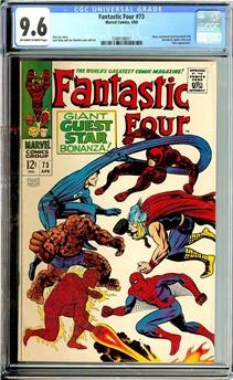 Fantastic Four #73