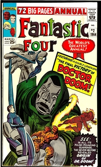 Fantastic Four Annual #2