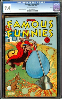 Famous Funnies #122