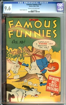 Famous Funnies #147