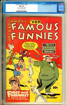 Famous Funnies #149