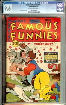 Famous Funnies #154