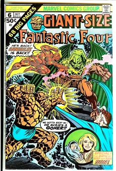 Fantastic Four Giant-Size #6