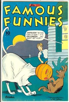 Famous Funnies #123