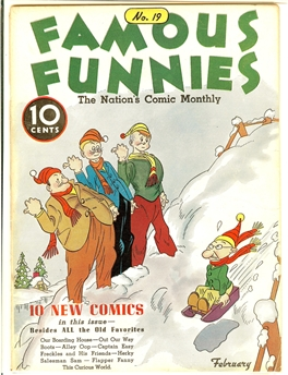 Famous Funnies #19