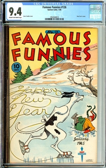 Famous Funnies #126