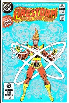 Fury of Firestorm #1