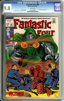 Fantastic Four #86