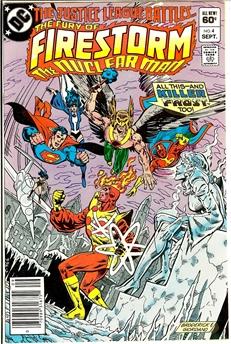 Fury of Firestorm #4