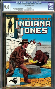 Further Adventures of Indiana Jones #22
