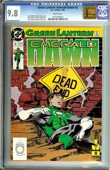 Green Lantern Emerald Dawn #2