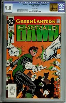 Green Lantern Emerald Dawn #4