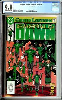 Green Lantern Emerald Dawn #6