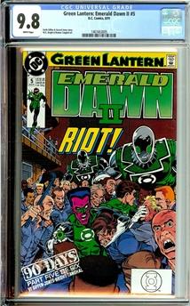 Green Lantern Emerald Dawn II #5