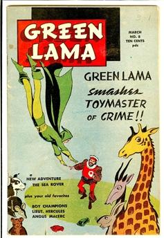 Green Lama #8