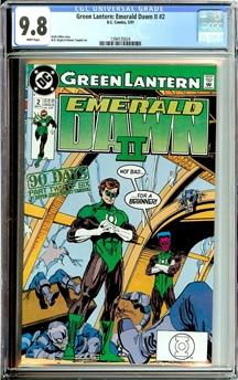 Green Lantern Emerald Dawn II #2